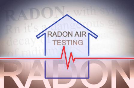 Image text: Radon Air Testing