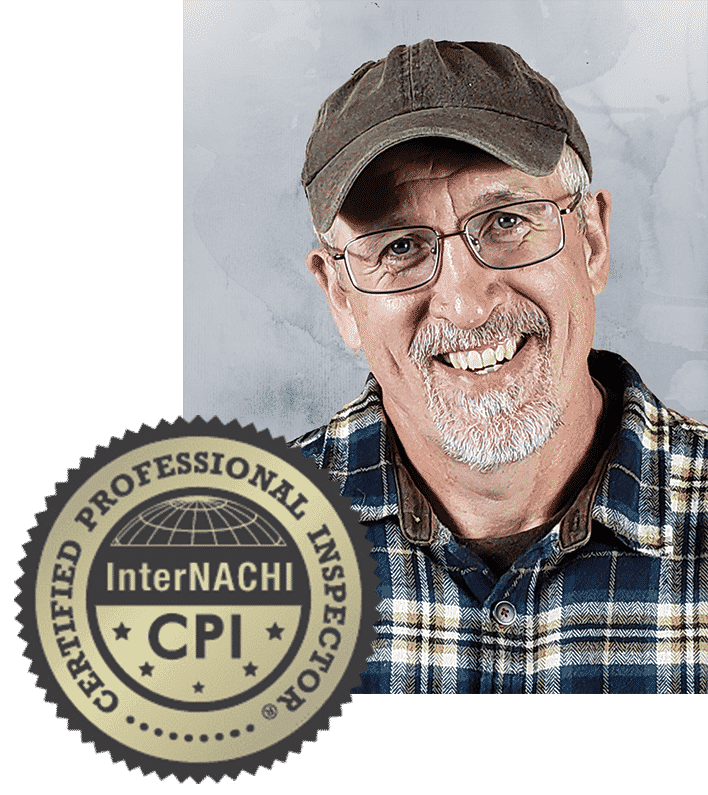 InterNACHI certified Home Inspector Rich Beasley