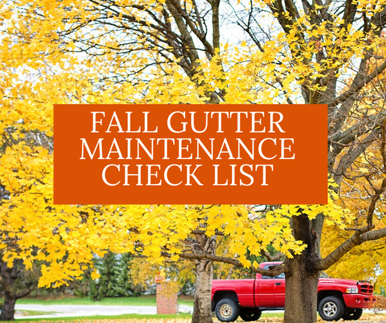 Tips from your Ishpeming Home Inspector: Don't Forget Fall Gutter Maintenance!